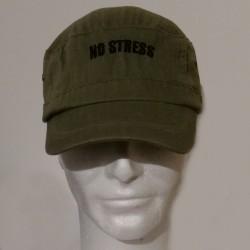 CASQUETTE ARMÉE VINTAGE : NO STRESS